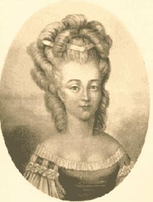 Bathilde d'Orléans - Bathilde by an unknown artist