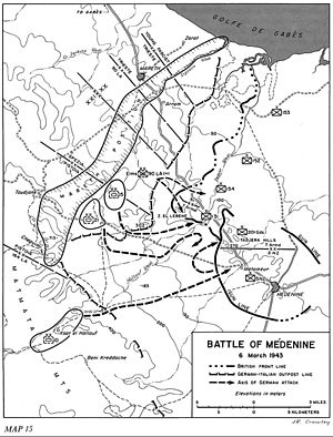 Battle of Medenine - Battle of Medenine