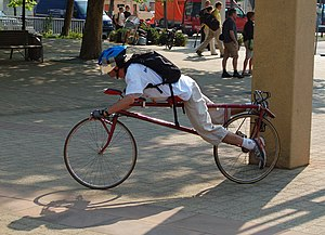 Prone bicycle - Prone bicycle