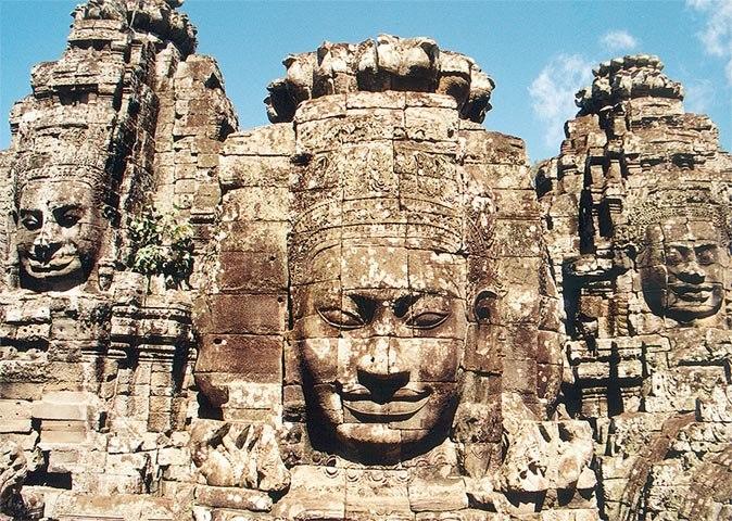 Bayon Angkor frontal