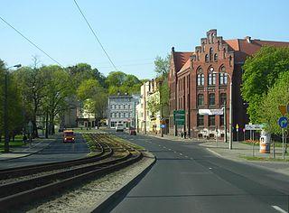 Bernardyńska Street in Bydgoszcz Street in Bydgoszcz