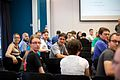 Beat Estermann at the Structured data discussion at Wikimania 2014 - 14667598218.jpg