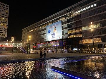 Beatrix Theater Utrecht vanaf Jaarbeursplein