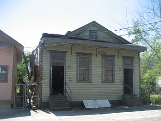 Sidney Bechet - Bechet's childhood home in the 7th Ward of New Orleans