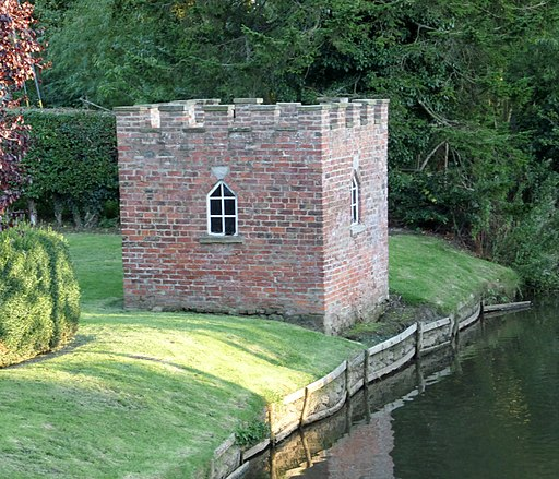 Bedale Medicinal Leech House, North Yorkshire - the view from the Bedale Beck Bridge