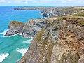 Bedruthan Steps, Carnewas, Cornwall (NT) July 2019 (48267194571).jpg