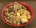 Beef sukiyaki bowl of Sukiya.jpg