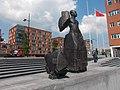 Beeld voor Anton de Kom(plein) Amsterdam Zuidoost10.jpg