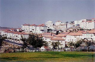 israelische Siedlung in Judäa