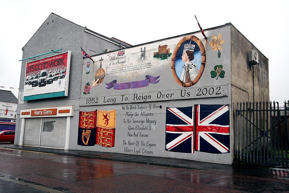 Belfast murals Ac