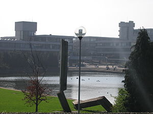 Belfield, Dublin - The Arts Block and Admin