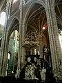 Belgique Gand Cathedrale Saint-Bavon Nef Chaire Verite - panoramio.jpg