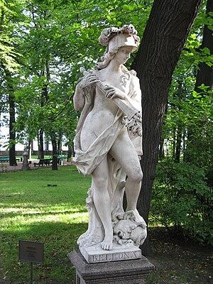 Alvise Tagliapietra - Tagliapietra's Bellona, the Summer Garden in Saint Petersburg