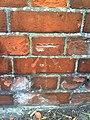 Benchmark on railway bridge over the 'West Curve' - geograph.org.uk - 1998738.jpg