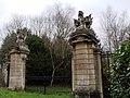 Benham Park gateposts. - geograph.org.uk - 1593876.jpg