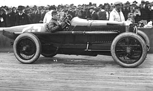 Beverly Hills Speedway - Bennett Hill at Beverly Hills in 1920