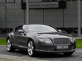 Bentley Continental GT (II) – Frontansicht (1), 30. August 2011, Düsseldorf.jpg