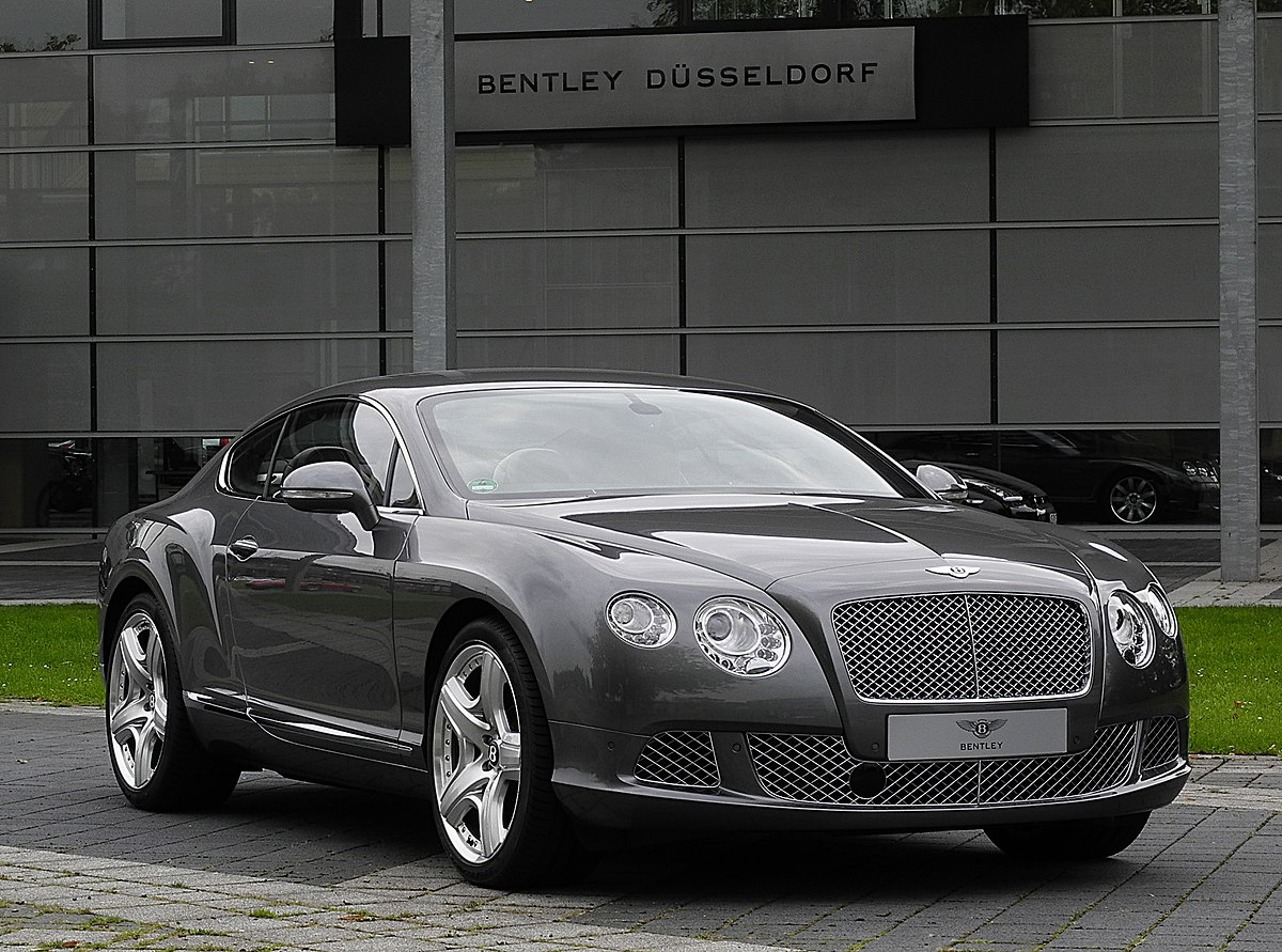 Bentley Continental Gt Wikipedia Wolna Encyklopedia