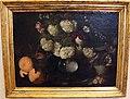 Bernardo strozzi (ambito), natura morta con boules de neige, rosa, mughetti e frutta, 1650-1700 ca..JPG