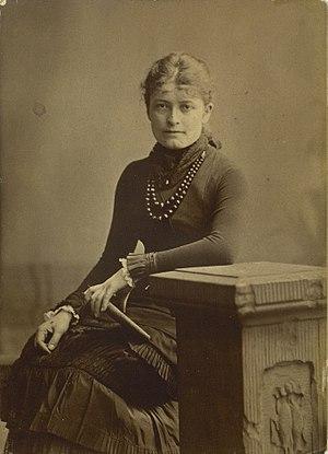 Bertha Wegmann - Bertha Wegmann (photograph by Georg Emil Hansen, 1891)