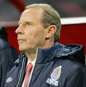 Berti Vogts - Coaching Azerbaijan in 2012
