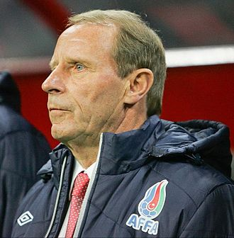 Scotland national football team manager - Berti Vogts was the first foreign manager of the team, appointed in 2002