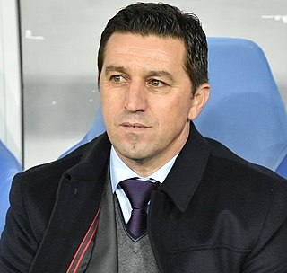 Besnik Hasi Albanian football coach and former player