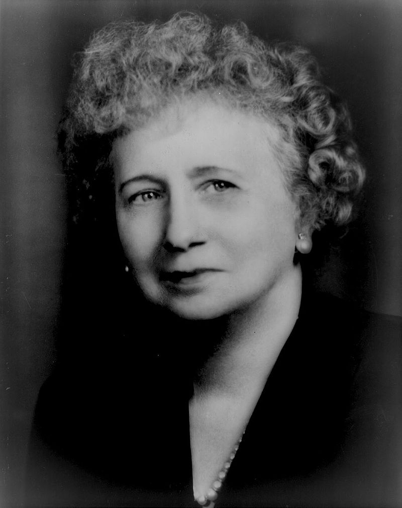 Portrait of Bess Truman