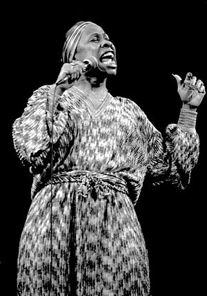 Betty Carter - Betty Carter at the Great American Music Hall, San Francisco, California, 1979.