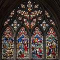 Beverley, St Mary's church, St Paul window (25302612692).jpg
