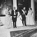 Bezoek van de president van Argentinië, Arturo Frondizi op het Huis den Bosch (g, Bestanddeelnr 911-3877.jpg