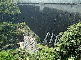 Bhumibol Dam dam in Sam Ngao, Tak