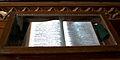 Bible on display at St.Francis Church.jpg