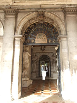 Biblioteca Nazionale Marciana, in Venice.