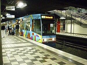 Bielefeld Stadtbahn - Image: Bielefeld station Hauptbahnhof 080927