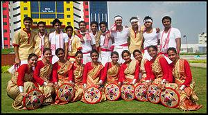 Bihu - Bihu dance marks the festival