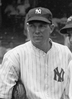 Bill Dickey - Dickey with the New York Yankees in 1937