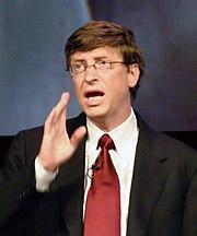 Bill Gates en el IT-Forum, Copenhagen. Años 2004