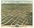 Bird's eye view of the city of Bowling Green, Warren County, Kentucky 1871. LOC 73693412.jpg