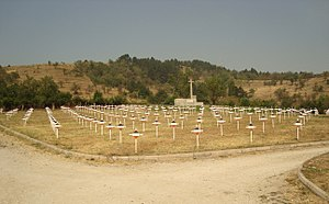 Battle of Monastir - Serbian military cemetery in Bitola.