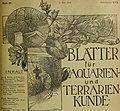 Blätter für Aquarien- und Terrarien-Kunde (1905) (19766666423).jpg