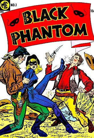 Magazine Enterprises - Image: Black Phantom 1