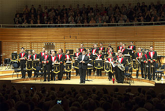 Yorkshire and the Humber - Black Dyke Band at the Lucerne Culture and Congress Centre (KKL Luzern) in 2012