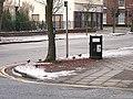 Blackbirds eating fruit - geograph.org.uk - 1650087.jpg