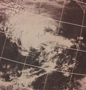 1970 Pacific hurricane season - Image: Blanca Jun 1019702213z