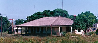 Blanquillo, Uruguay - The train station at Blanquillo