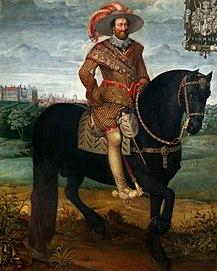 Equestrian portrait of John Albert II, Duke of Mecklenburg