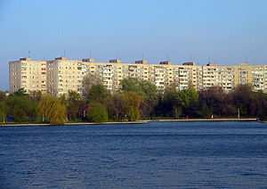 Ceaușima - Apartment blocks in Titan