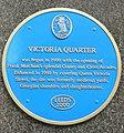 Blue Plaque, Victoria Quarter, Leeds - geograph.org.uk - 187955.jpg
