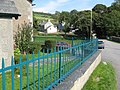 Blue railings - geograph.org.uk - 964834.jpg